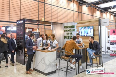 PIZZA COSY PRÉSENT AU FRANCHISE EXPO PARIS